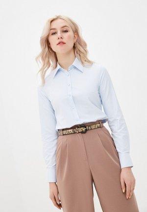 Рубашка Pareto Italy. Цвет: голубой