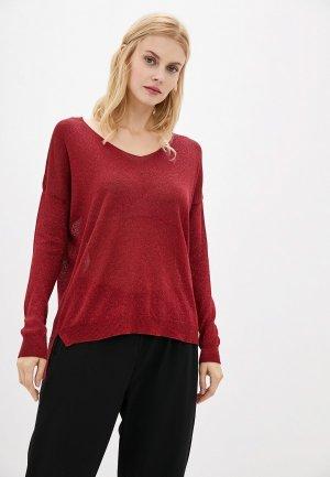Пуловер Zabaione. Цвет: бордовый
