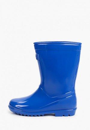Резиновые сапоги Regatta Wenlock Junior. Цвет: синий