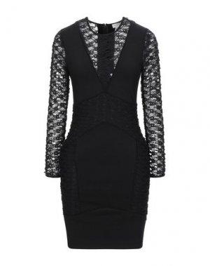 Короткое платье MIGUEL PALACIO for HOSS INTROPIA. Цвет: черный