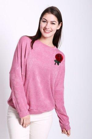 Пуловер D.S.. Цвет: розовый