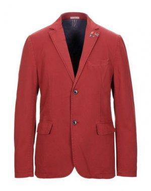 Пиджак ROŸ ROGER'S. Цвет: кирпично-красный
