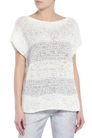 Пуловер MARC CAIN SPORTS. Цвет: белый