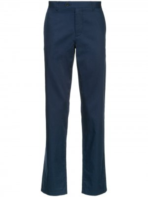 Durban классические однотонные брюки-чинос D'urban. Цвет: синий