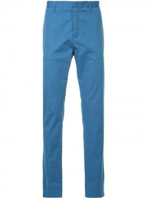 Классические брюки-чинос Cerruti 1881. Цвет: синий
