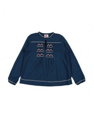 Блузка AMERICAN OUTFITTERS. Цвет: грифельно-синий
