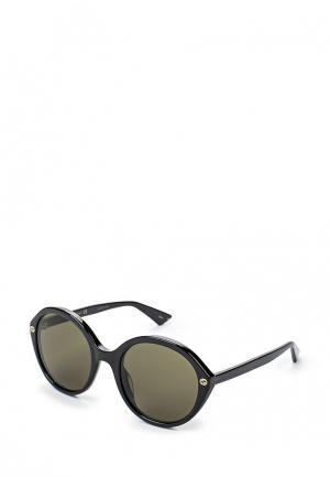 Очки солнцезащитные Gucci GG0023S 001. Цвет: черный