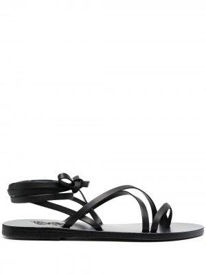 Сандалии с ремешком на щиколотке Ancient Greek Sandals. Цвет: черный
