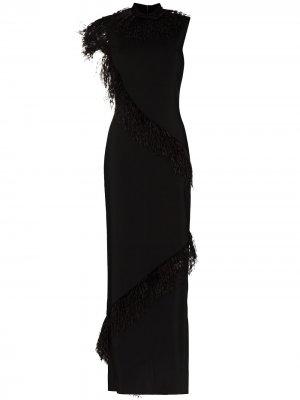 Платье без рукавов Christopher Kane. Цвет: черный