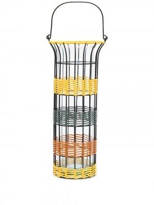 Цилиндрическая ваза для цветов Marni Market. Цвет: желтый
