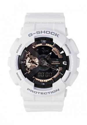 Часы Casio G-SHOCK GA-110RG-7A. Цвет: белый