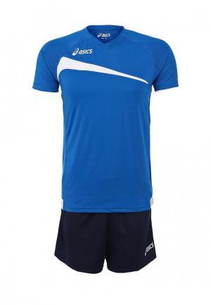 Форма волейбольная ASICS SET PLAY OFF. Цвет: синий