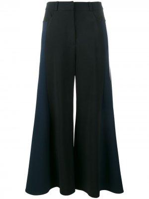 Укороченные широкие брюки Peter Pilotto. Цвет: черный