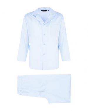 Пижама AMBASSADOR. Цвет: лазурный