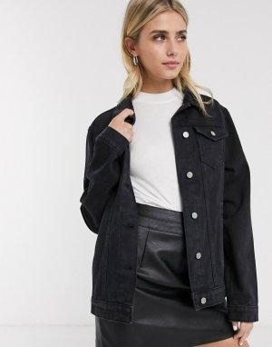Джинсовая куртка -Черный Brave Soul