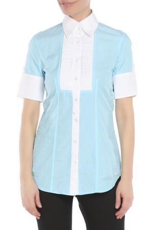 Блуза Marc Aurel. Цвет: голубой
