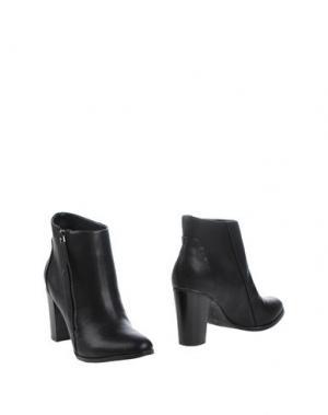 Полусапоги и высокие ботинки SILVIAN HEACH. Цвет: черный