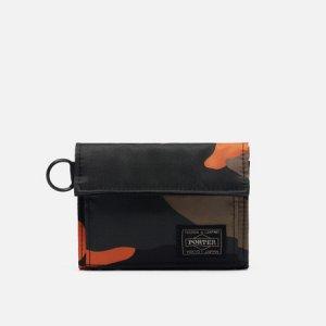 Кошелек PS Camo Medium Porter-Yoshida & Co. Цвет: камуфляжный