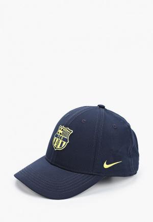 Бейсболка Nike FCB Y NK DRY L91 CAP ADJ. Цвет: синий