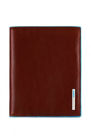 Обложка для паспорта Piquadro. Цвет: коричневый
