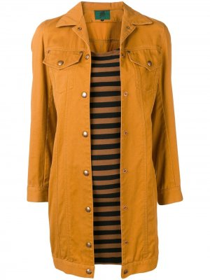 1991 denim dress Jean Paul Gaultier Pre-Owned. Цвет: оранжевый