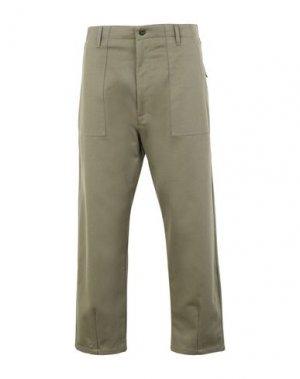Повседневные брюки CATERPILLAR. Цвет: зеленый-милитари
