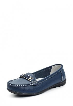 Мокасины Zenden Comfort ZE011AWVSQ86. Цвет: синий