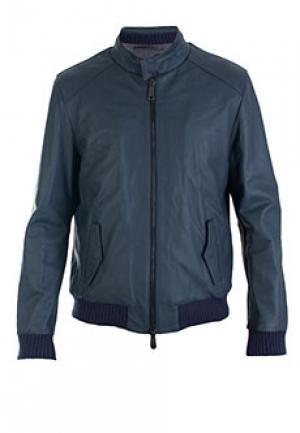 Куртка ALESSANDRO DELLACQUA DELL'ACQUA. Цвет: синий