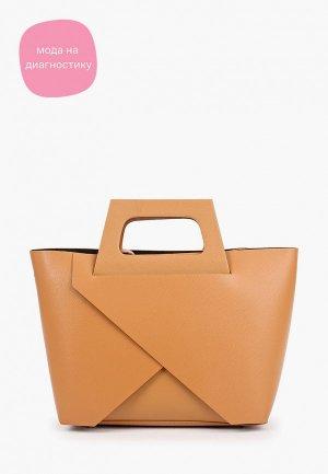 Комплект Carla Ferreri. Цвет: коричневый