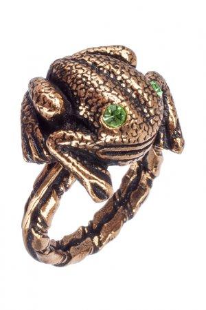 Кольцо MAURIZIO MORI. Цвет: золотой