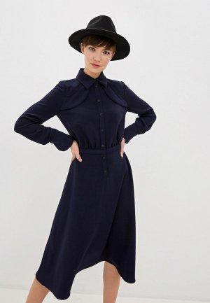 Платье Ba&Sh. Цвет: синий