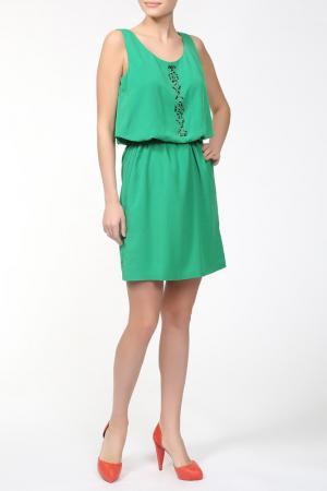 Платье Alba Conde. Цвет: зеленый
