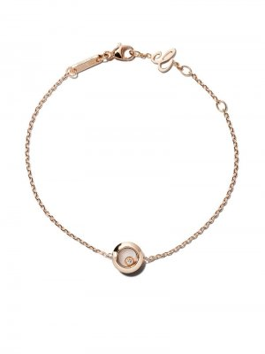 18kt rose gold Happy Diamonds Icons bracelet Chopard. Цвет: rose gold
