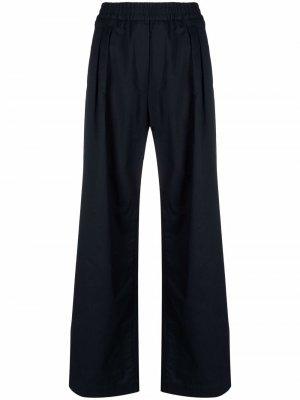 Широкие брюки строгого кроя Filippa K. Цвет: синий