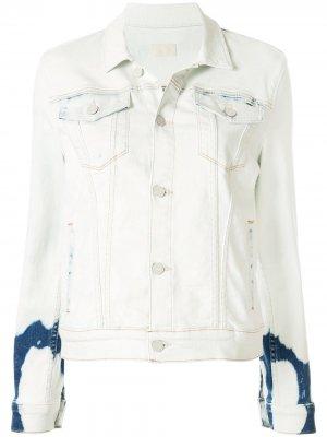 Джинсовая куртка Pocket Bruiser MOTHER. Цвет: синий