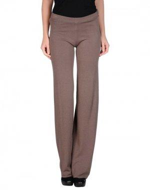 Повседневные брюки ANIS. Цвет: хаки