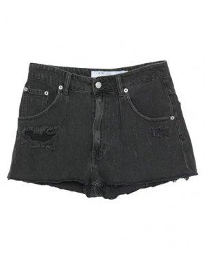 Джинсовые шорты IRO. Цвет: черный
