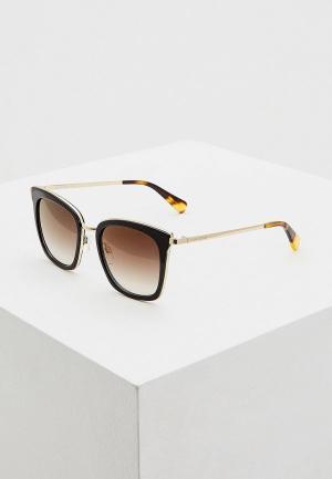 Очки солнцезащитные Love Moschino MOL007/S 807. Цвет: коричневый