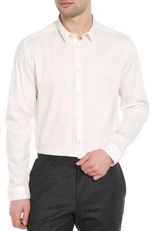 Рубашка CNC Costume National C'N'C. Цвет: белый