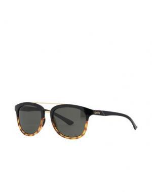 Солнечные очки SMITH. Цвет: черный