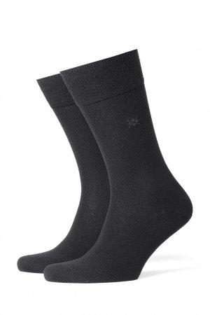 Черные носки Leeds Burlington. Цвет: черный