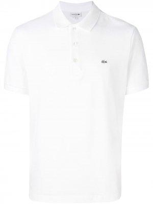 Рубашка-поло с логотипом Lacoste. Цвет: белый