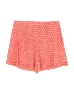 Пляжные брюки и шорты VDP BEACH. Цвет: коралловый