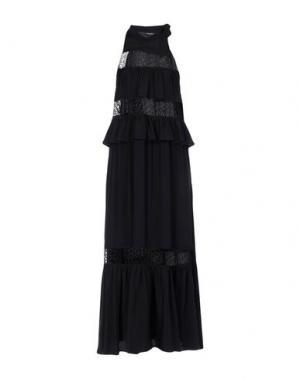 Длинное платье ANNARITA N. Цвет: черный