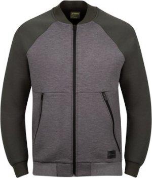 Легкая куртка мужская , размер 46 Demix. Цвет: серый