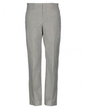 Повседневные брюки BRUUNS BAZAAR. Цвет: светло-серый