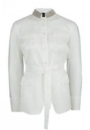 Рубашка FABIANA FILIPPI. Цвет: белый