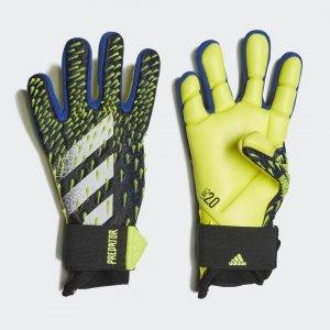 Вратарские перчатки Predator Pro Performance adidas. Цвет: белый