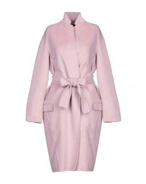 Легкое пальто LIVIANA CONTI. Цвет: сиреневый