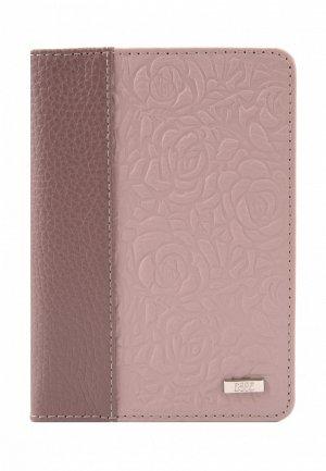 Обложка для паспорта Esse PAGE. Цвет: розовый